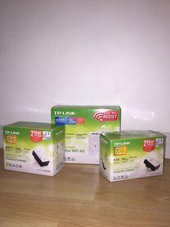 TP-LINK Passthrough Powerline WiFi Kit AV500