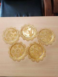 Coasters  - Glass, Vintage/Retro