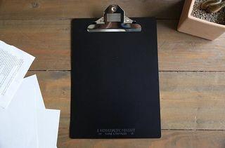 Design and life D&L B5 鋁製夾板 消光黑 共三個