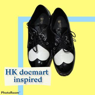 docmart marteen hello kitty HK custom inspired shoes