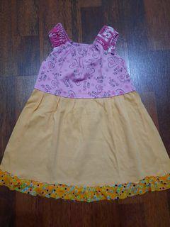 Dress anak 2-3 thn orange