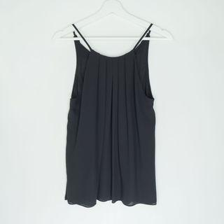 FOREVER21 pleated halter neck top