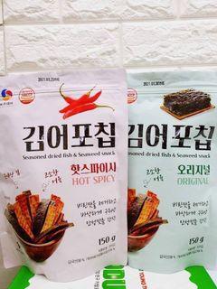 ✨韓國K.FISH 香酥海苔魚片 150g✨