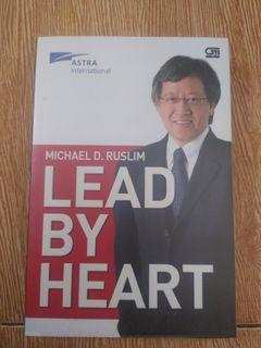 lead by heart by michael d. ruslim