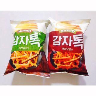 ✨韓國Market O 馬鈴薯條餅乾 136g✨