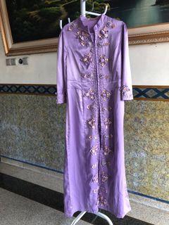 Muslim lilac dress