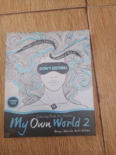My Own World 2 Buku Mewarnai untuk dewasa