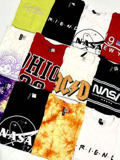 NEW H&M Vintage, Band Graphic Crop Tees | Authentic Overruns