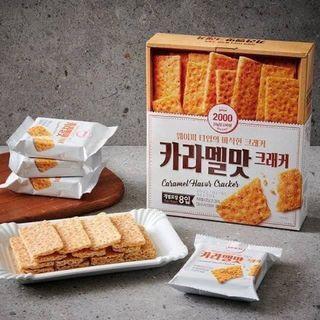 ✨韓國only price 焦糖餅乾 25g*8✨