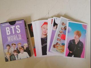 Photocard BTS World