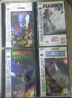 Sega Saturn Original Old Games