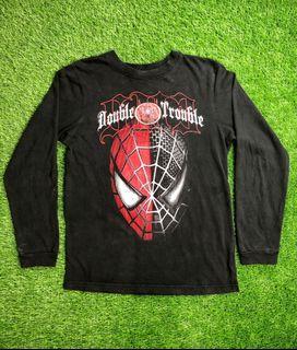Spiderman 3 Double Trouble copyright 2006 T-shirt Lengan Panjang