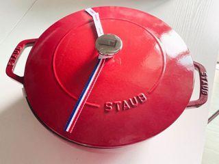 Staub 24cm 鑄鐵鍋