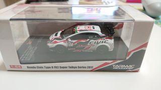 Tarmac works HOBBY64 Honda Civic Type R Fd2 Super Taikyu Series 2017