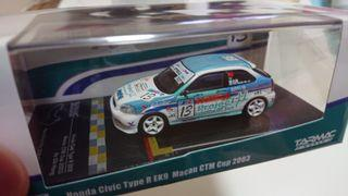 Tarmac works HOBBY64 Honda Civic Type R EK9 Macau CTM Cup 2003 限量1488架