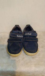 Timberland童帆布鞋