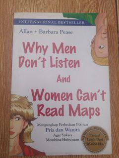 Why Men Dont Listen and Women cant read maps by allan & barbara pease