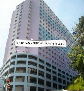 [WTS] Apartment Puncak Erskine,Jln Fettes Tanjung Tokong