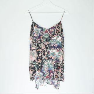 ZARA floral prints tank top