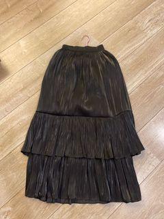 黑色 韓製 長裙