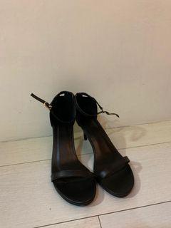 全新 一字帶 高跟 涼鞋 高跟鞋 尺碼 37 跟 7cm 太大故售出