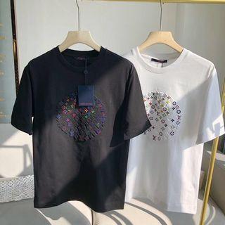 代購 法國精品Louis Vuitton LV立體浮雕印花短袖T恤