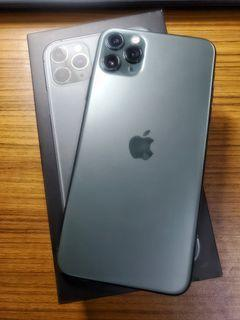 Apple iPhone 11 Pro Max 夜幕綠色 256G 電池健康度98% 保固中