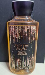bath and body work shower into the night
