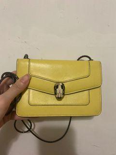 Bvlgari mini chain bag
