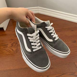Dark Grey Old Skool Vans