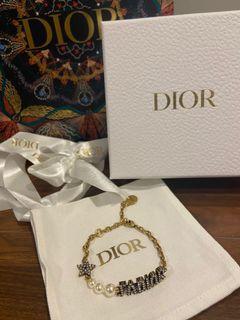 Dior 手鏈 Bracelet 復古閃鑽星星珍珠