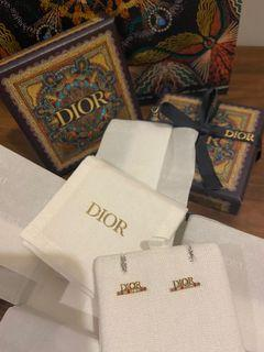 Dior 耳環 earrings 彩色閃石