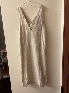 KBF雙v後交叉洋裝