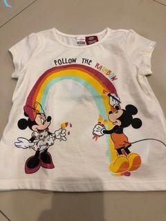 LC waikiki mickey mouse tshirt