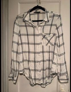 M Boutique Plaid Shirt