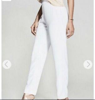 Marciano white pants, size 6