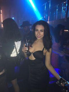 Misspap - Kendra Black Satin Cut Out Bodycon Dress