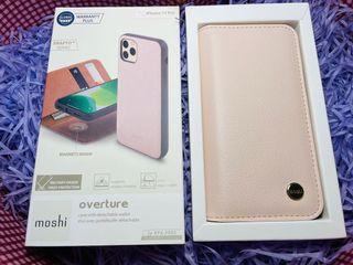 Moshi iPhone 11Pro 皮夾保護殼(全新)