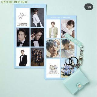 Nct Nature Republic Keychain Taeyong