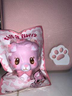 Osc x chawa pink dog squishy