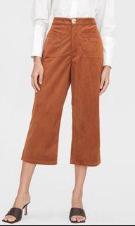 Pomelo Corduroy Front Pocket Pants