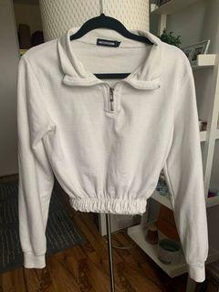 Pretty Little Thing Cropped Sweater - Size Small