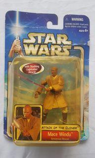 Star Wars AOTC Jedi Masters: Mace Windu, Yoda, Kit Fisto