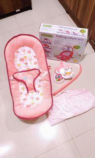 Sugarbaby Babyelle fold up infant seat - kursi bayi