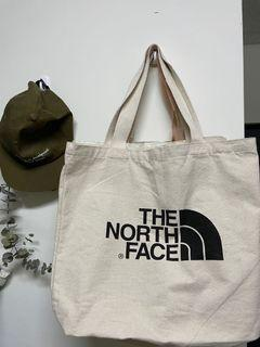 the north  face帆布袋/9成新/厚磅