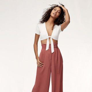 Wilfred Elouan Knit Cropped Top