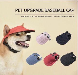 狗仔防曬棒球帽