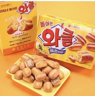 ✨韓國好麗友 烤洋蔥麵包 76g✨