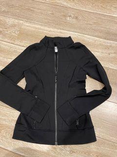 女童 lululemon 童裝品牌 140cm 黑色 長袖外套