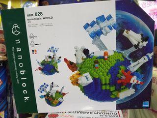 全新原裝行貨 nanoblock NBM 028 world 地球